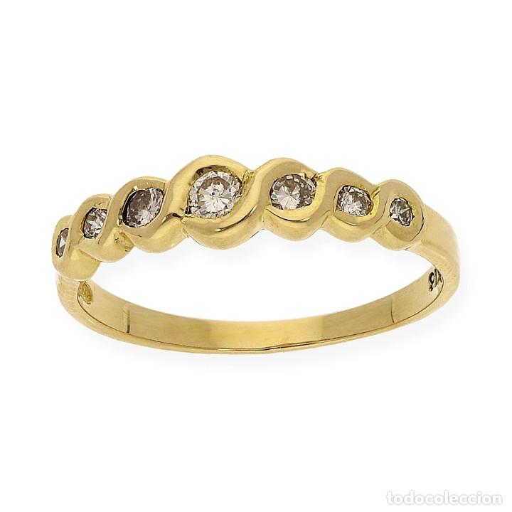 Joyeria: Anillo Diamantes y Oro de Ley 18k - Foto 2 - 172570868