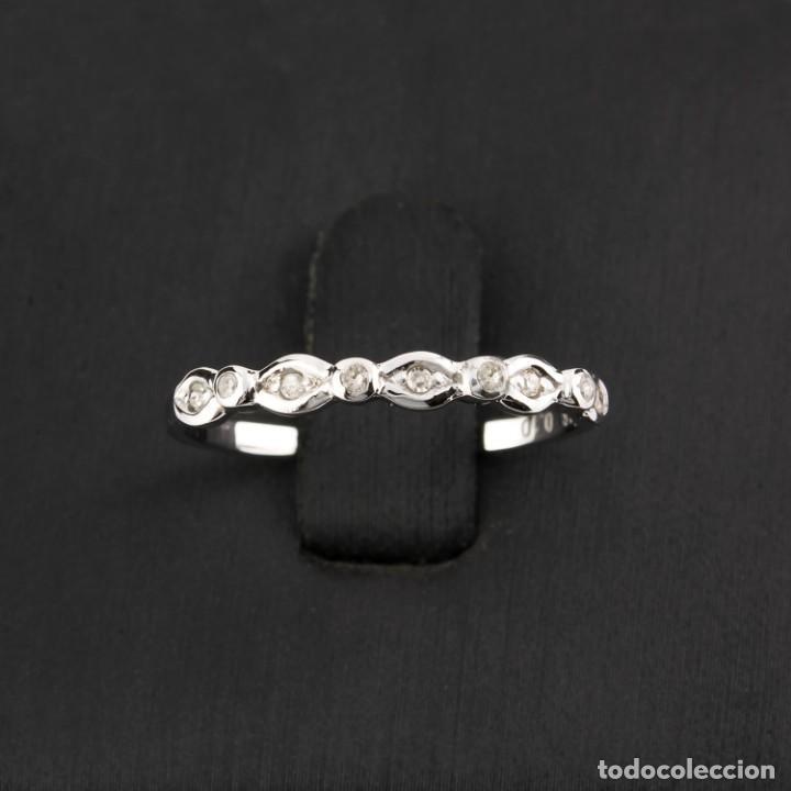 Joyeria: Anillo Diamante y Oro de Ley 18k - Foto 2 - 215524867