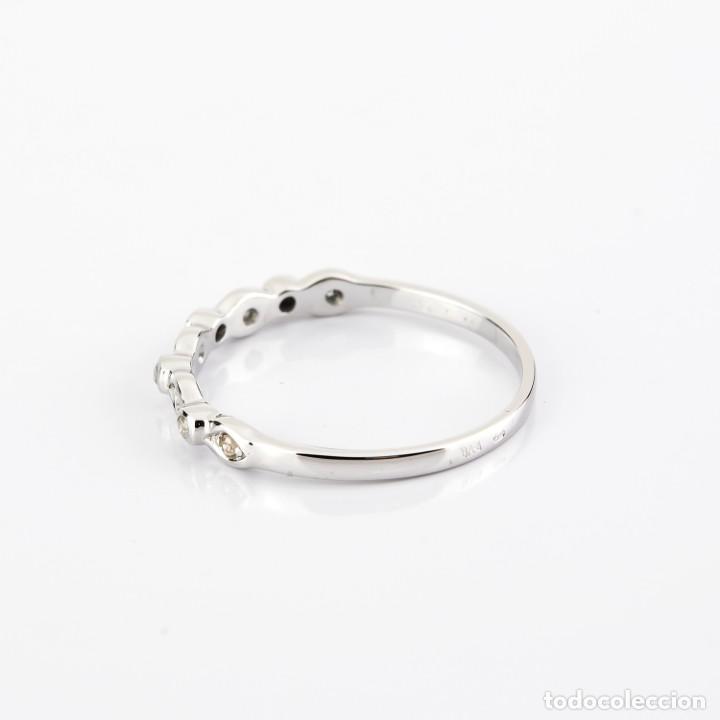 Joyeria: Anillo Diamante y Oro de Ley 18k - Foto 4 - 215524867