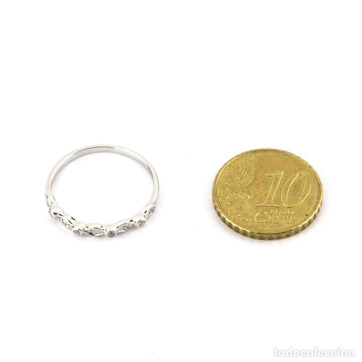 Joyeria: Anillo Diamante y Oro de Ley 18k - Foto 6 - 215524867