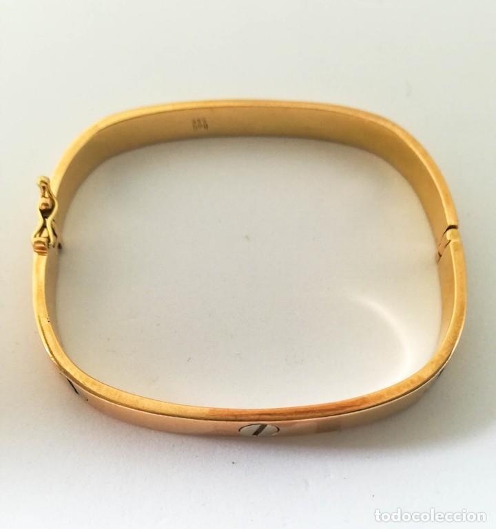 Joyeria: Pulsera o brazalete estilo Cartier Oro 14k - Foto 2 - 135691187