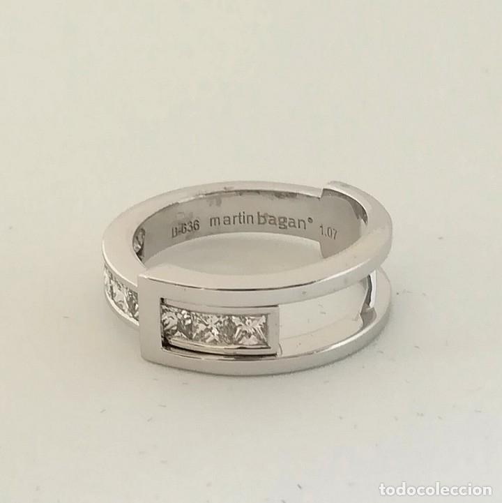 Joyeria: Anillo oro 18k con diamantes martin bagan - Foto 3 - 125952435