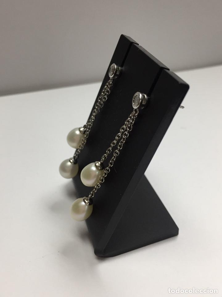 Joyeria: Pendientes plata con perlas y circonitas - Foto 6 - 136461014