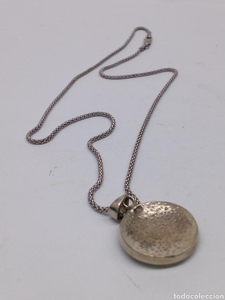Joyeria: Gargantilla plata 925 con colgante plata y nacar - Foto 2 - 136464194