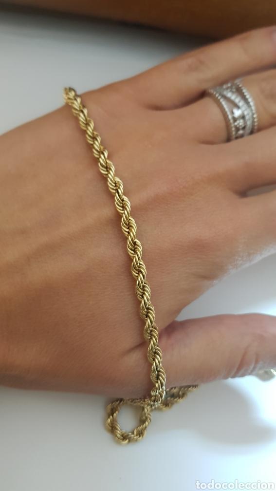d45fa2b70250 cadena cordón de oro amarillo de 18k - Comprar Cadenas Antiguas en ...
