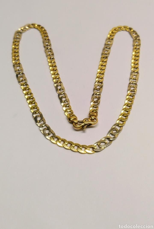 4f937647d9e0 cadena en oro amarillo y oro blanco de 18 kts. - Comprar Cadenas ...