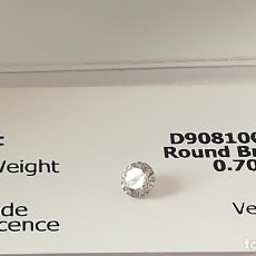 Joyeria: DIAMANTE NATURAL DE 0,70CT CERTIFICADO. Lote 137277018