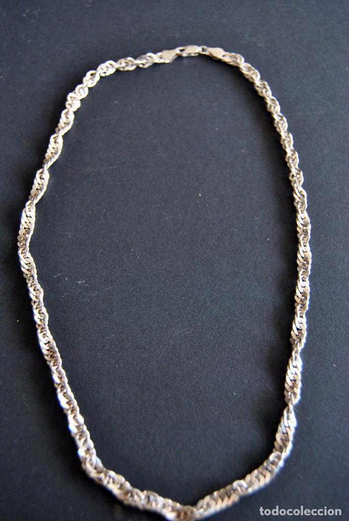 1c345b87853b Cadena de plata italiana de plata de ley 925 d - Vendido en Subasta ...
