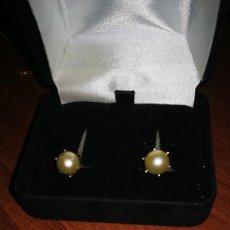 Joyeria - pendientes oro y perla cultivada - 137464438