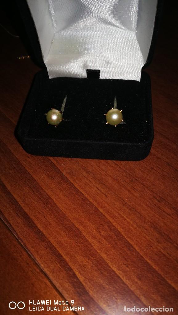 Joyeria: pendientes oro y perla cultivada - Foto 2 - 137464438