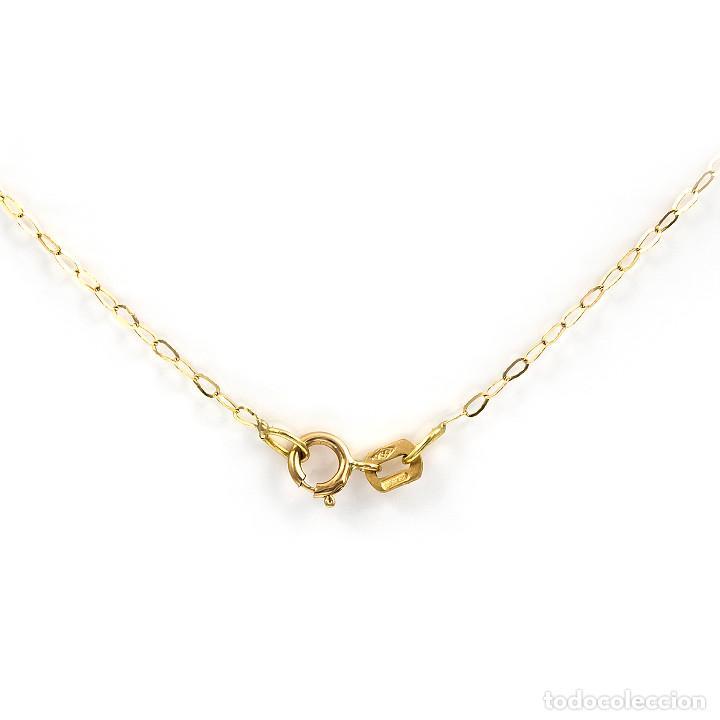 Joyeria: Collar Diamantes y Esmeraldas en Oro de Ley 18k - Foto 5 - 137797050