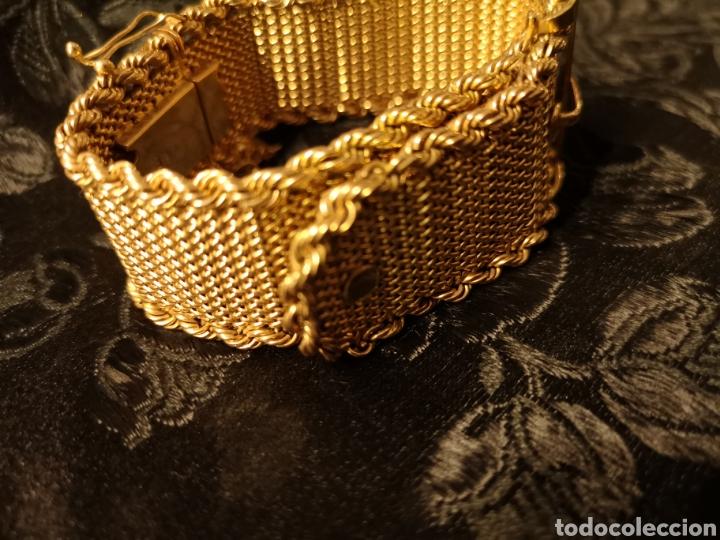 Joyeria: Espectacular brazalete en oro - Foto 2 - 138541469