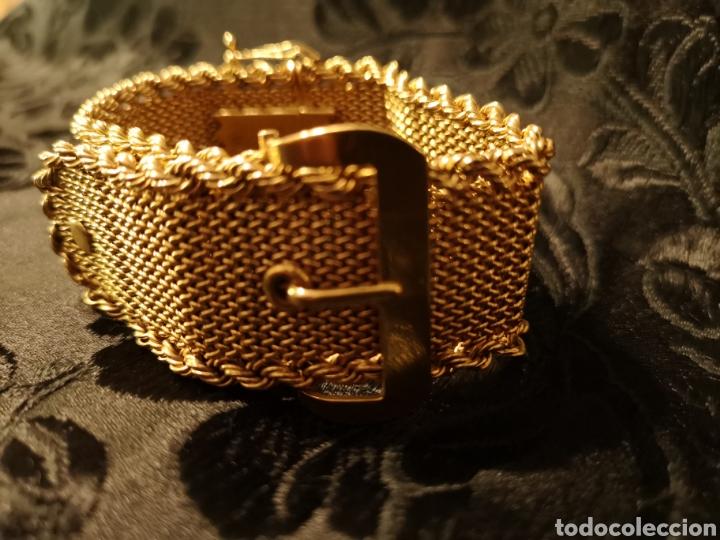 Joyeria: Espectacular brazalete en oro - Foto 3 - 138541469