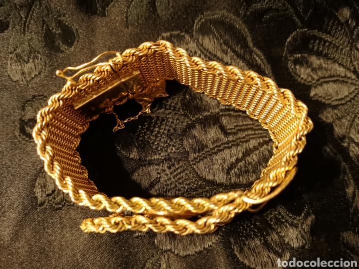 Joyeria: Espectacular brazalete en oro - Foto 4 - 138541469