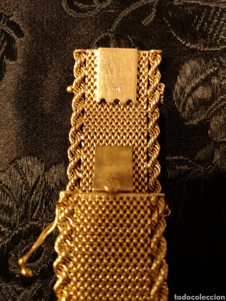 Joyeria: Espectacular brazalete en oro - Foto 9 - 138541469