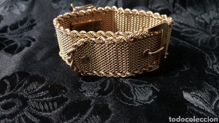 Joyeria: Espectacular brazalete en oro - Foto 10 - 138541469