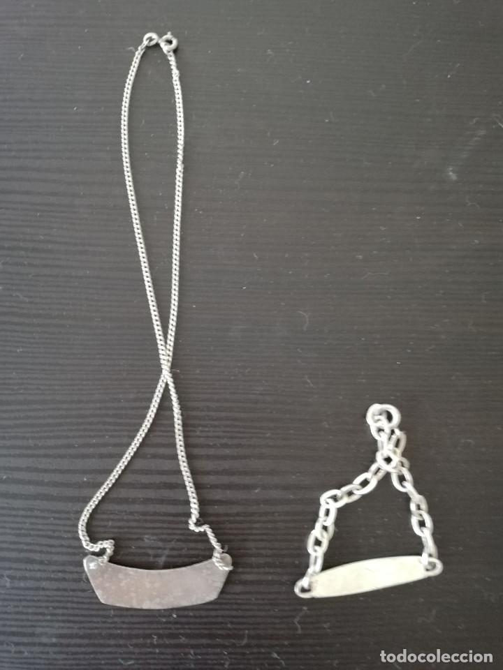 Joyeria: Lote de pulsera y collar de plata de 925 - Foto 3 - 138714210