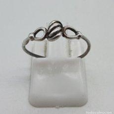 Jewelry - Sortija antigua en plata de ley contrastada . - 138948826