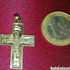 Joyeria: PRECIOSA CRUZ DE PLATA DORADA. Lote 139026757