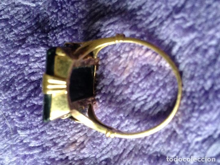 Joyeria: Anillo oro y onix - Foto 3 - 139052786