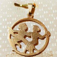 Joyeria: COLGANTE DE GOLDFILLE 14K . Lote 139135102