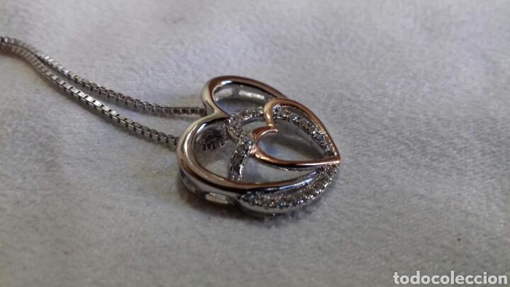 Schmuck: Colgante Doble corazón con Cristales de Swarovski - Foto 5 - 139160836