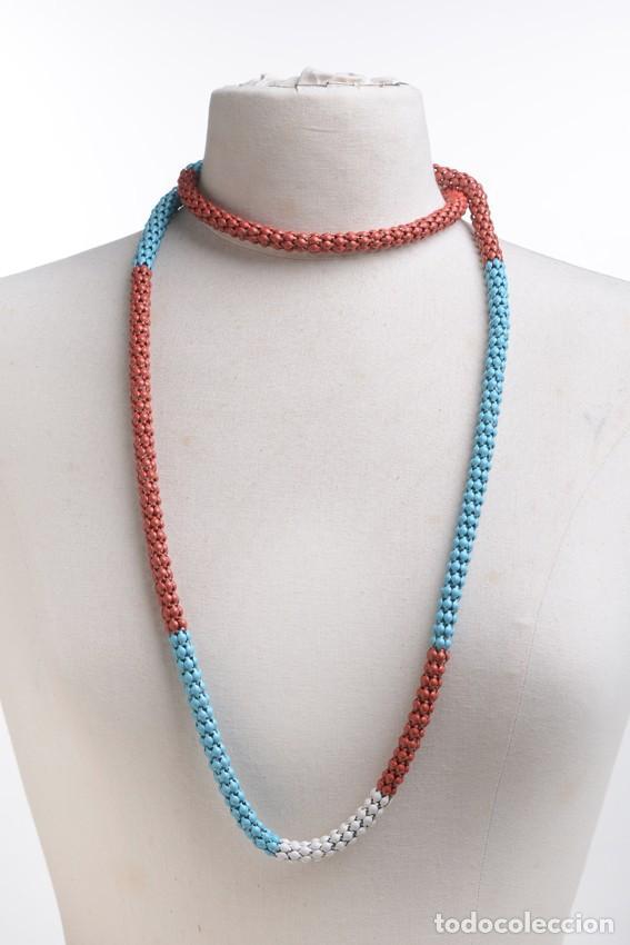 Joyeria: Collar vintage, collar largo, collar hippie, collar bohemio,collar cadena colores,accesorios hippies - Foto 2 - 139553278