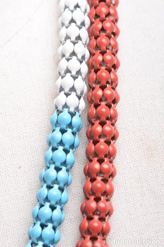 Joyeria: Collar vintage, collar largo, collar hippie, collar bohemio,collar cadena colores,accesorios hippies - Foto 5 - 139553278