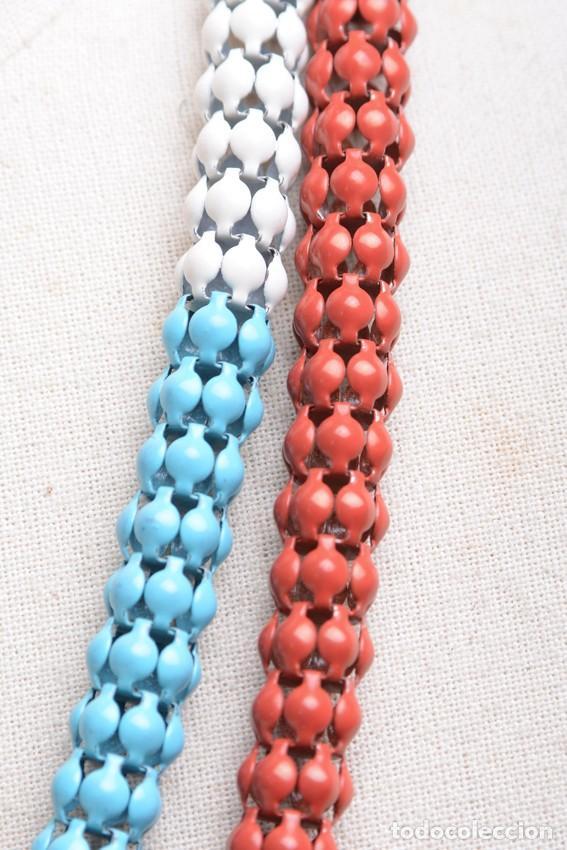 Joyeria: Collar vintage, collar largo, collar hippie, collar bohemio,collar cadena colores,accesorios hippies - Foto 6 - 139553278