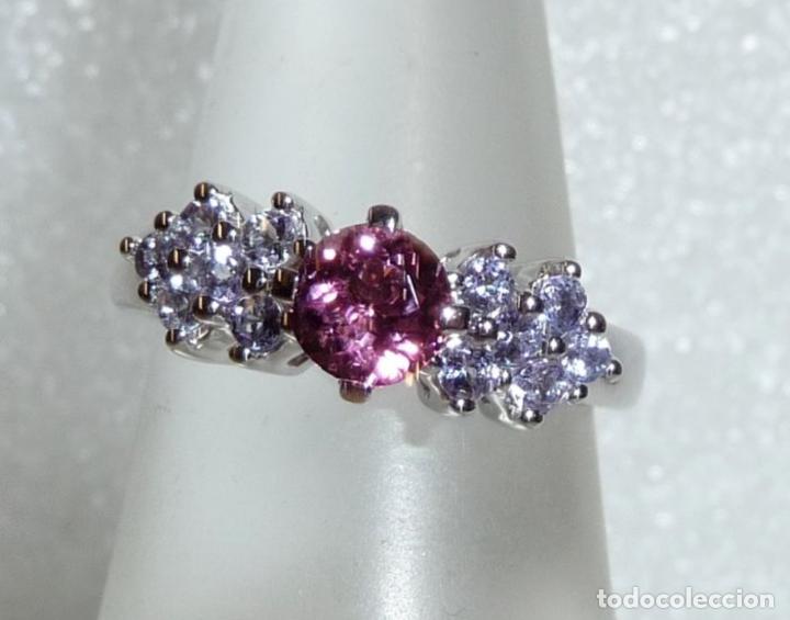 fb9ebe127513 anillo hecho de oro blanco de 14 kt   585. en e - Comprar Anillos ...