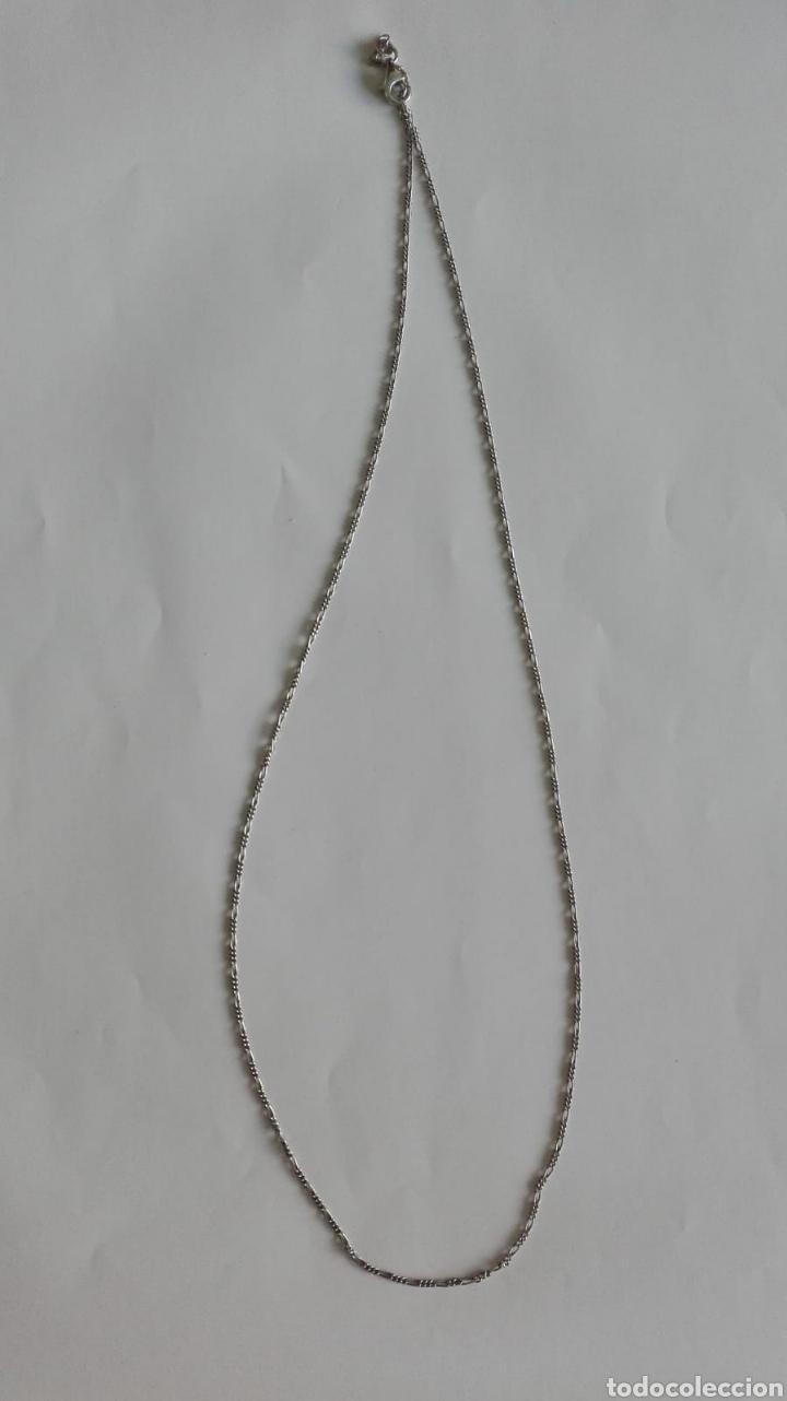 2ed082acce27 Cadena plata de ley 925 60 cm largo 1 mm ancho - Vendido en Venta ...