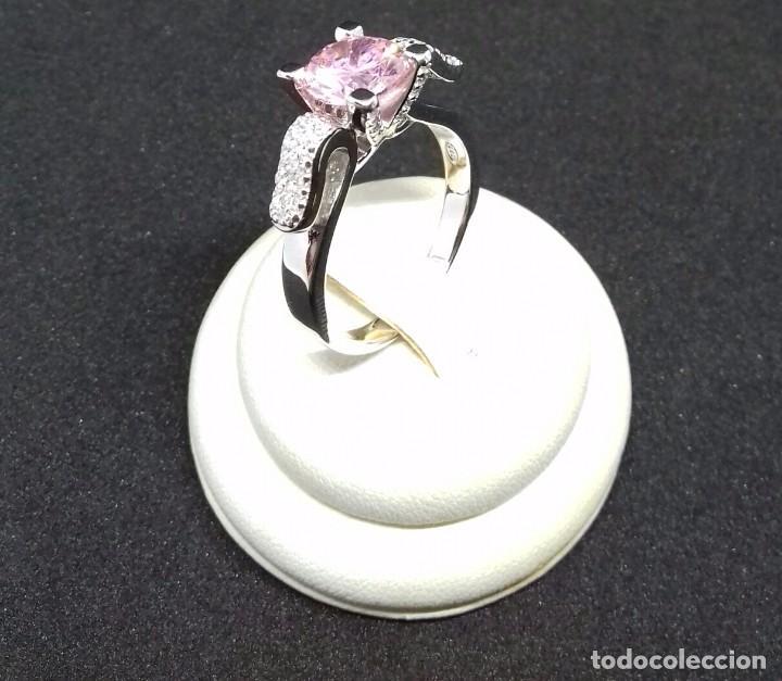 Joyeria: Anillo con Topacio rosa en Plata de Ley - Foto 7 - 140730202