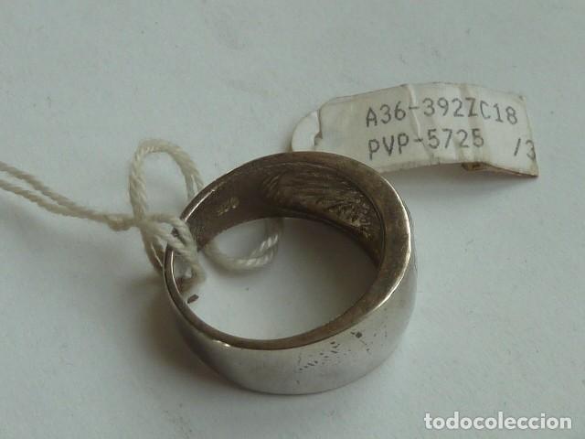 Joyeria: ANILLO VINTAGE de PLATA DE 925 mm con 4 circonitas blancas, costaba 34,41 euros - Foto 3 - 140897954