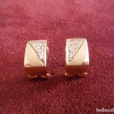 Jewelry - PENDIENTES ORO AMARILLO 18K CON CIRCONITA ENGARZADA - 140920082
