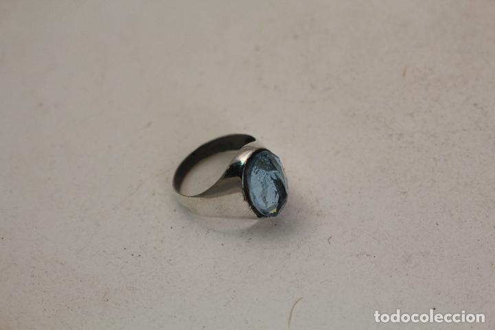 Joyeria: anillo en plata de ley con aguamarina - Foto 7 - 140959094