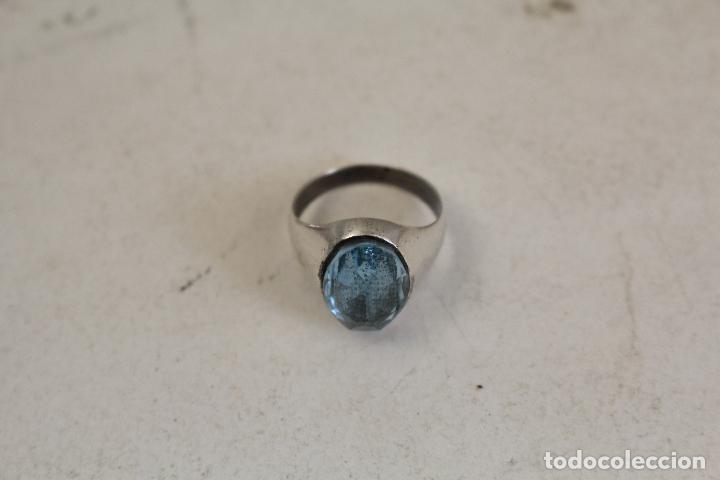 Joyeria: anillo en plata de ley con aguamarina - Foto 8 - 140959094