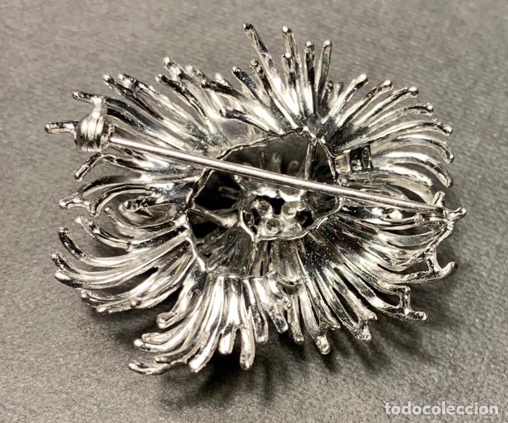 Joyeria: Espectacular broche en oro blanco de ley 18 qt 750 y 6 diamantes brillantes (con contrastes) - Foto 5 - 140966160