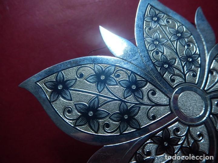Joyeria: Broche de plata, con forma de hoja. - Foto 3 - 141201454