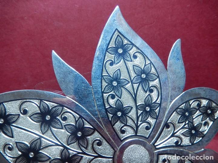Joyeria: Broche de plata, con forma de hoja. - Foto 4 - 141201454