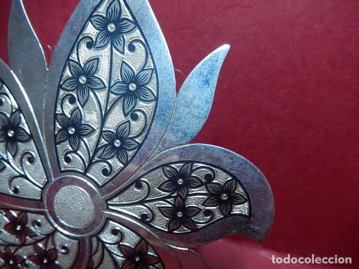 Joyeria: Broche de plata, con forma de hoja. - Foto 5 - 141201454