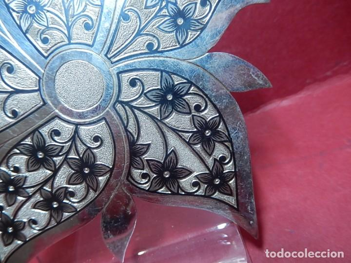 Joyeria: Broche de plata, con forma de hoja. - Foto 6 - 141201454