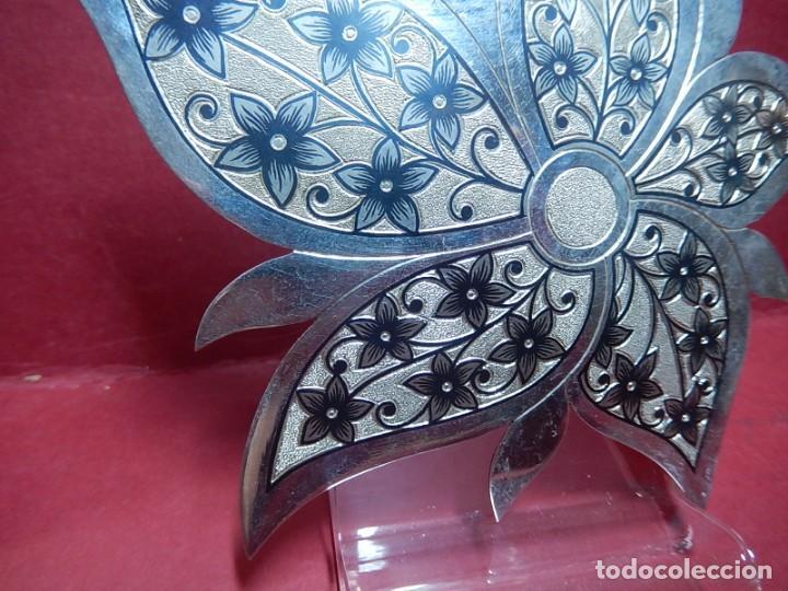 Joyeria: Broche de plata, con forma de hoja. - Foto 7 - 141201454