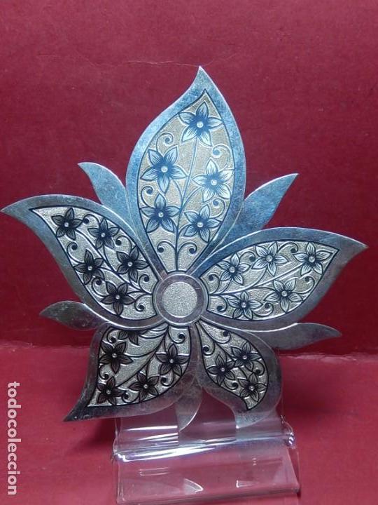 Joyeria: Broche de plata, con forma de hoja. - Foto 14 - 141201454