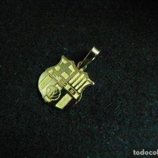 Joyeria: COLGANTE ESCUDO DE F.C. BARCELONA DE ORO DE 18 KILATES PESO 0,95 G. Lote 141209998