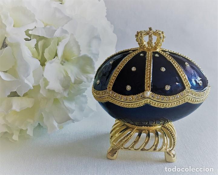 Joyeria: Huevo Joyero Estilo Faberge - Foto 6 - 141233078