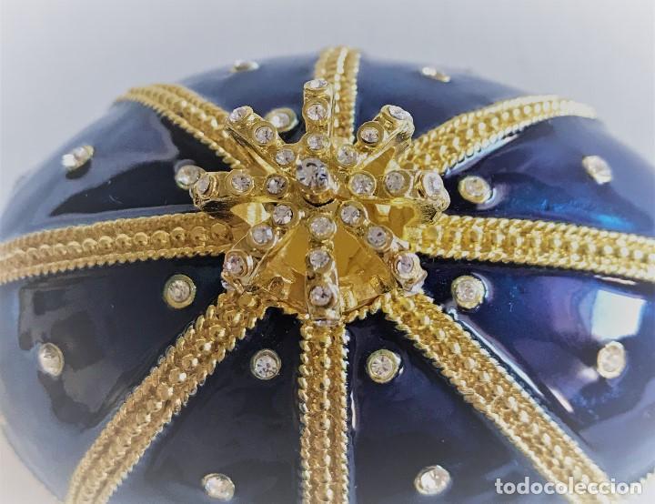 Joyeria: Huevo Joyero Estilo Faberge - Foto 9 - 141233078