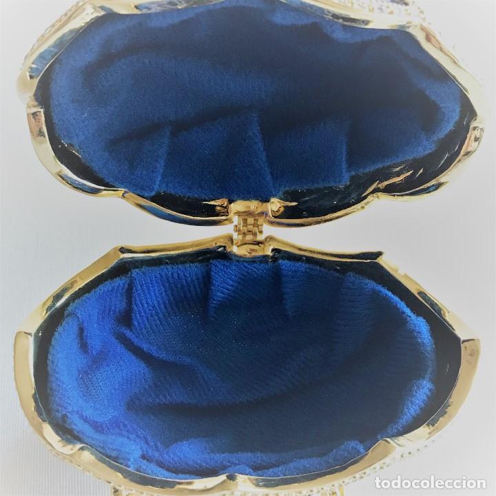 Joyeria: Huevo Joyero Estilo Faberge - Foto 11 - 141233078