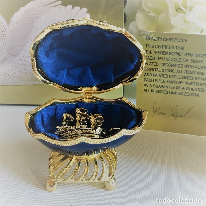 Joyeria: Huevo Joyero Estilo Faberge - Foto 15 - 141233078