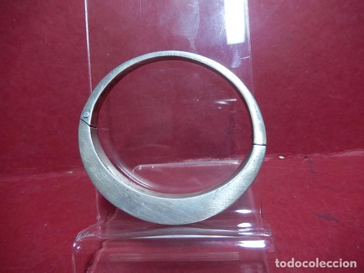 Joyeria: Brazalete / pulsera. Oro, plata y hueso. - Foto 3 - 141348758