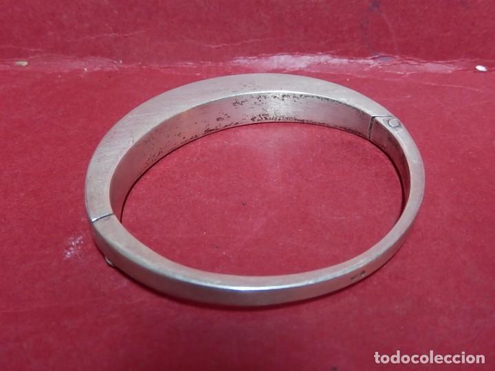 Joyeria: Brazalete / pulsera. Oro, plata y hueso. - Foto 5 - 141348758